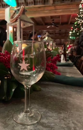 Wineglass setup