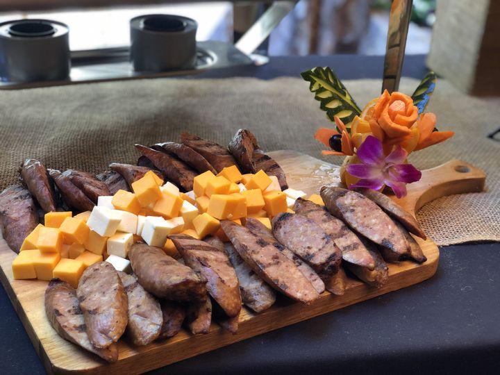 Sausage & Cheese Platter