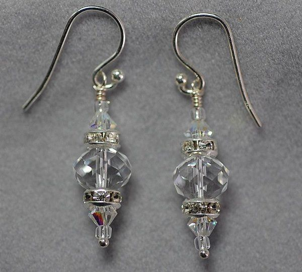 Elegant Vicorian Style Earrings.