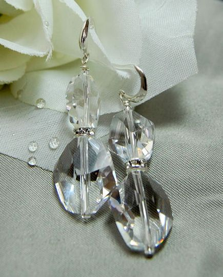 Alison Ice Crystal Earrings