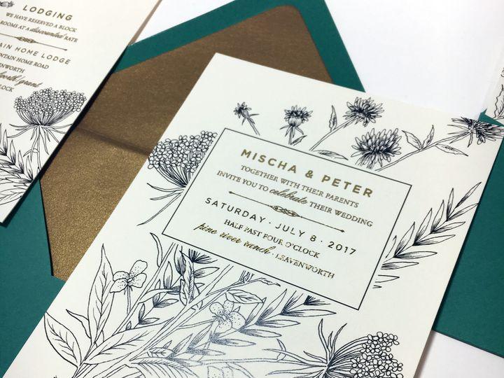 Tmx 1502216813057 Wedding Wire 3 Bellevue wedding invitation