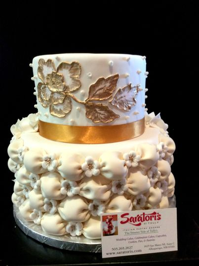 Fondant Billowing with Brush Embroidery