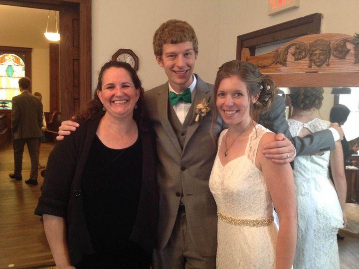 Tmx 1456538276697 Caitlinbrian Holly wedding officiant