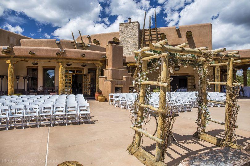 Ceremony setup | Photography by: Chris McGrath