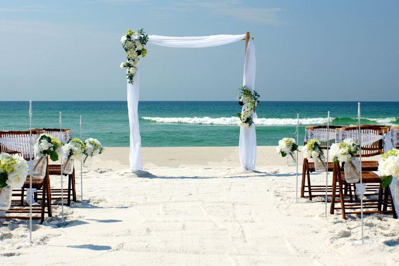 Island Girl Deluxe Beach Wedding Package