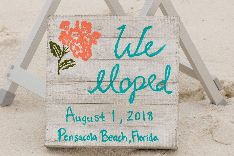 Destination Beach Wedding at Pensacola Beach, Florida