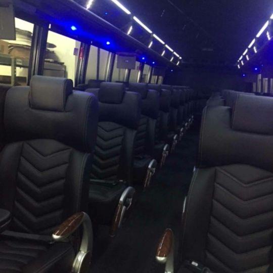 Interior 40-52 passenger