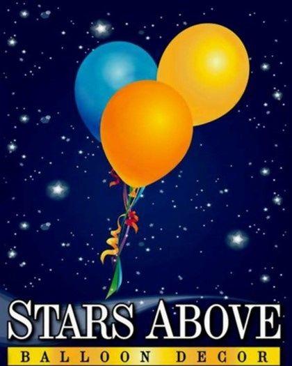 Stars Above Balloon Decor