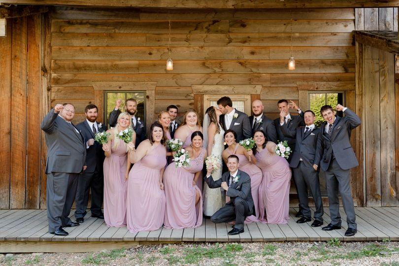 Wedding party photos!