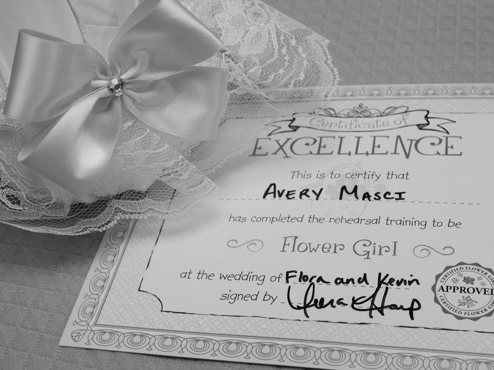 Tmx 1478212264804 Bandw Flower Girl Certificate Wellesley, Massachusetts wedding planner