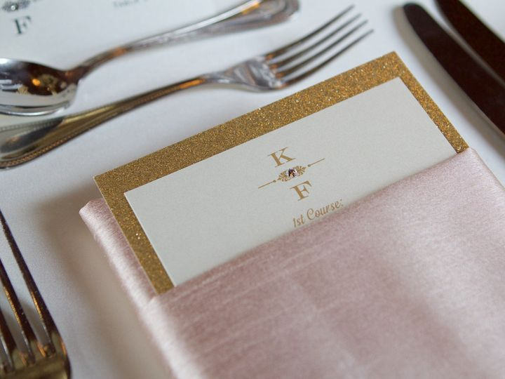 Tmx 1478212976910 Menu Cards Wellesley, Massachusetts wedding planner