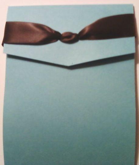 Pocket Fold Invites