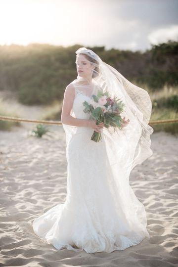 Sunny Ibiza bride
