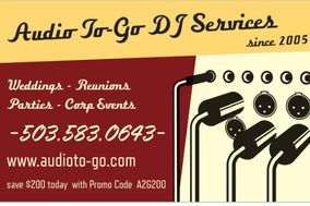 Audio To-Go DJ Services