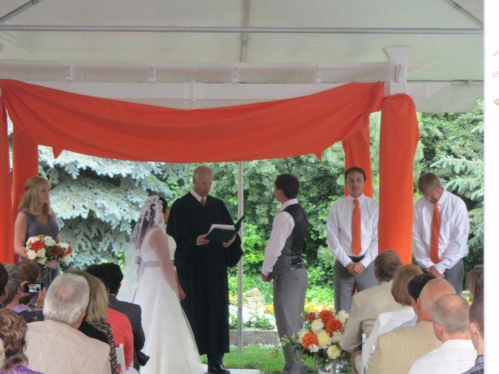 A Sharp Dj Service with an amazing backyard ceremony!