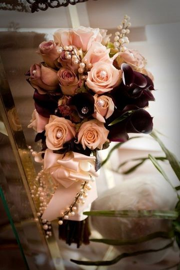 Gorgeous Bridal Bouquet, my florist is my lifeline! Photo by The Studio Photographers