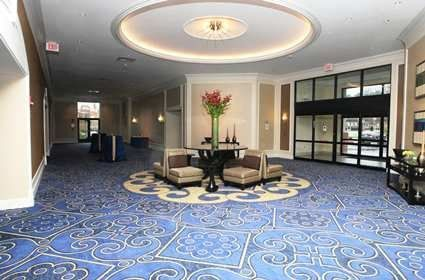 Pre-function Reception area off the Ballrooms. Great for lounging and having your guests mingle...