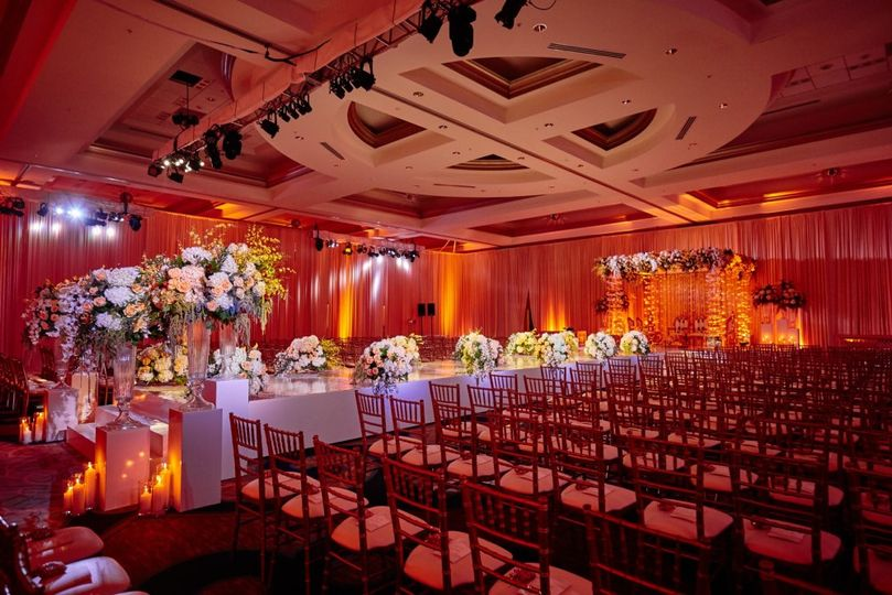 Ceremony in our Ballroom