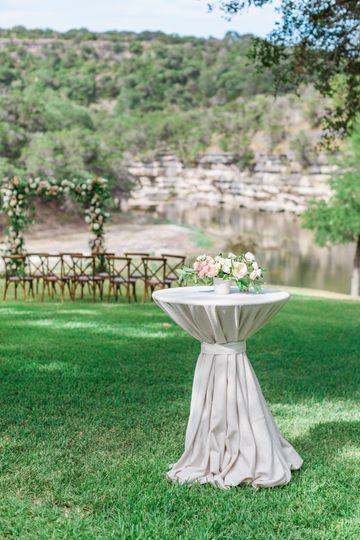 Hill Country Backyard Wedding