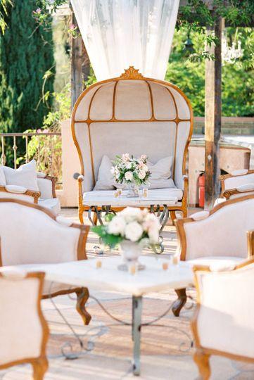 alegria by design wedding villa verano garden rest