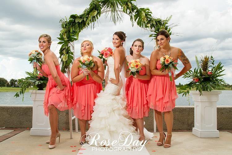 Bridal pary