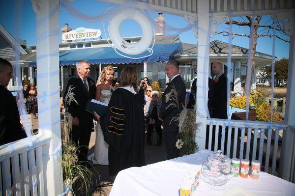 The wedding pavilion