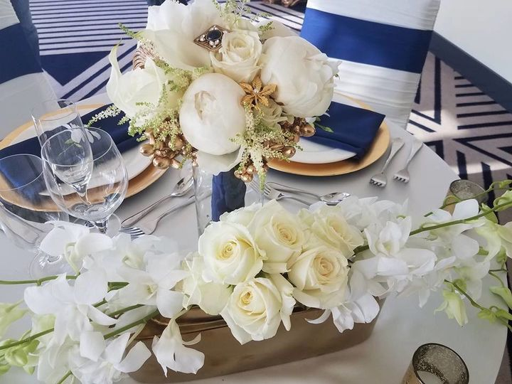 For a navy wedding