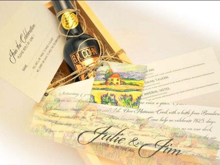 Tmx 1357266063485 Boxedinvitationoliveoilcustominvitations Savage wedding invitation