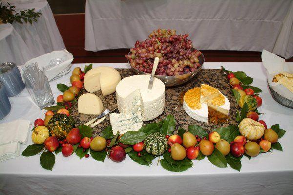 Gourmet Cheese Display