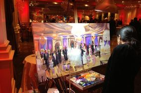 Event Painting by Katherine