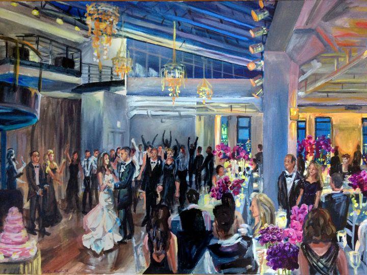 Tmx 1396385506886 Tribeca Rooftop Painting Pi Brooklyn, NY wedding favor