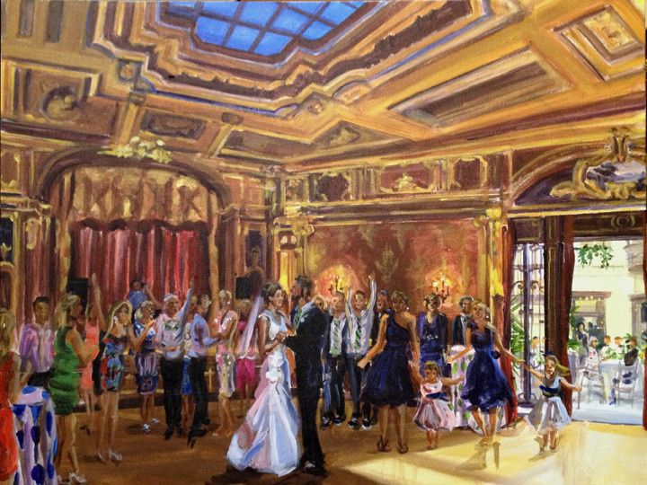 Tmx 1396387126715 Nicolini Painting Pic Smal Brooklyn, NY wedding favor