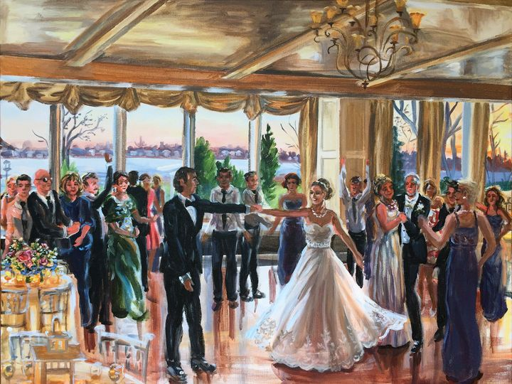 Tmx 1484694489652 Dempsey Painting Pic Small Brooklyn, NY wedding favor
