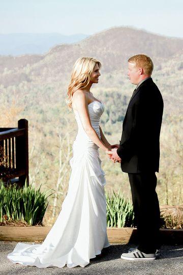 Blue Ridge Cabin Wedding