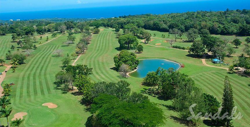 Sandals Golf course Ocho Rios