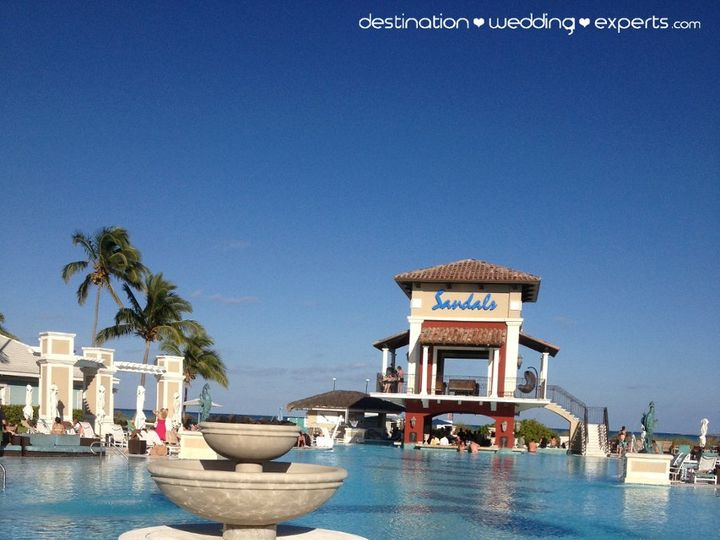 Tmx 1363375648260 SandalsEBpool Gaithersburg, MD wedding travel