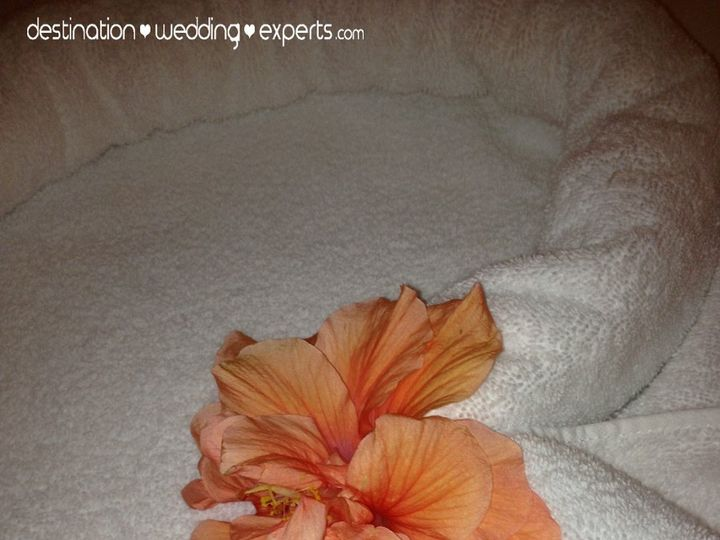 Tmx 1363375757002 SandalsEBTowelArt Gaithersburg, MD wedding travel
