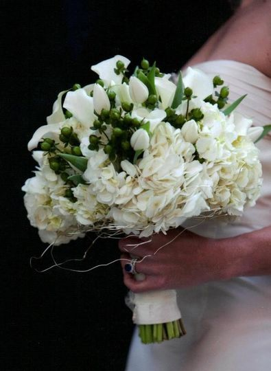 julie burke blanchards wedding bouquet