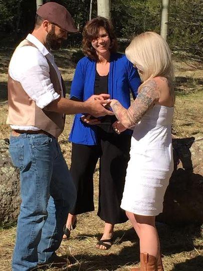 Snowbowl wedding Flagstaff Arizona