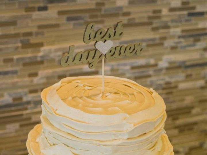 Tmx 1451261242511 Best Day Ever Wells wedding cake