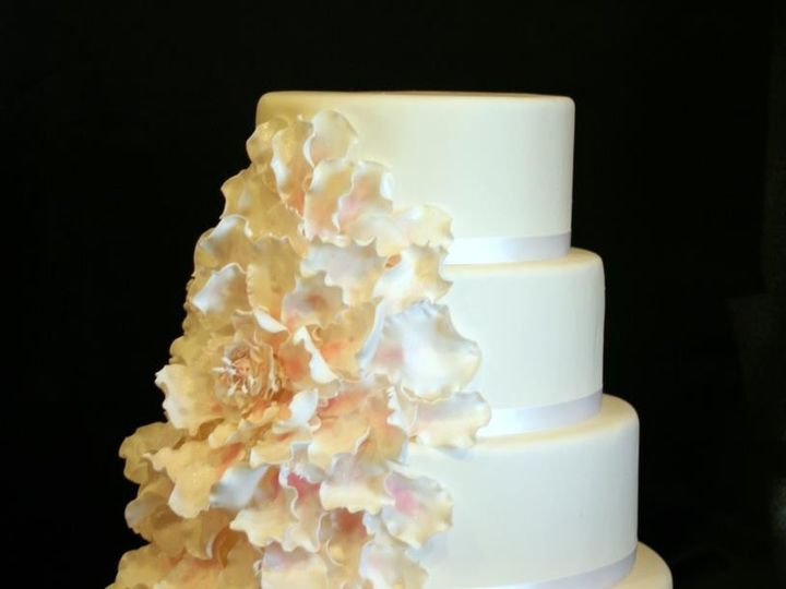 Tmx 1451261274087 Blossom Wells wedding cake
