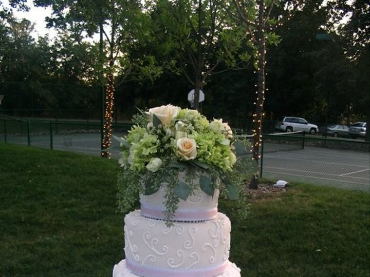 Tmx 1451261293999 Blush Swirls Wells wedding cake