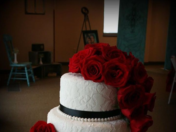 Tmx 1451261414122 Lace And Roses   Copy   Copy Wells wedding cake