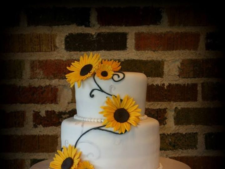 Tmx 1451261588005 Sunflowers   Copy   Copy Wells wedding cake