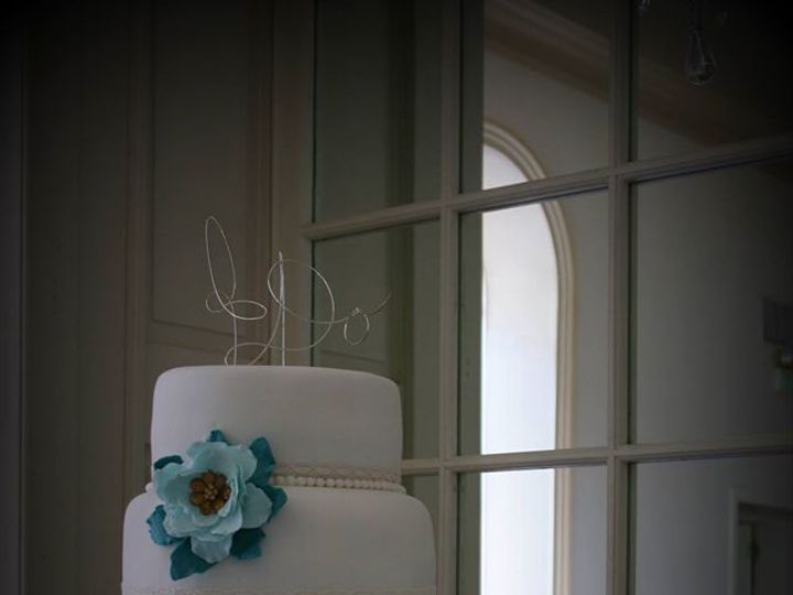 Tmx 1451261632991 Teal Ombre   Copy   Copy Wells wedding cake