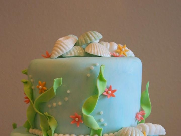 Tmx 1451261666016 Under The Sea 2   Copy   Copy Wells wedding cake