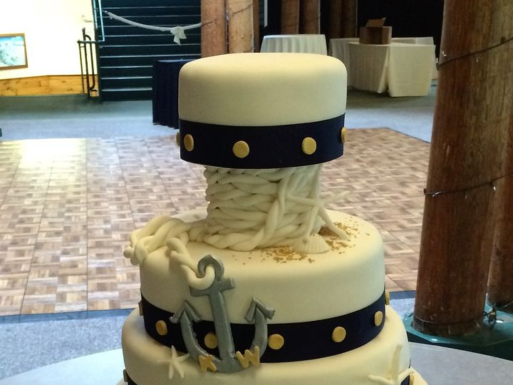 Tmx 1476375773207 Anchors Away Wells wedding cake