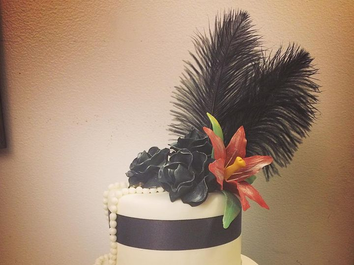 Tmx Flapper 51 904866 Wells wedding cake