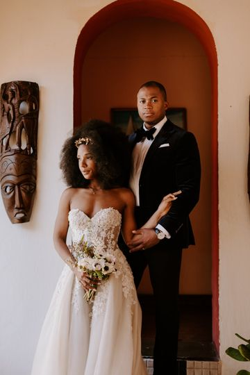 Destination wedding in Haiti