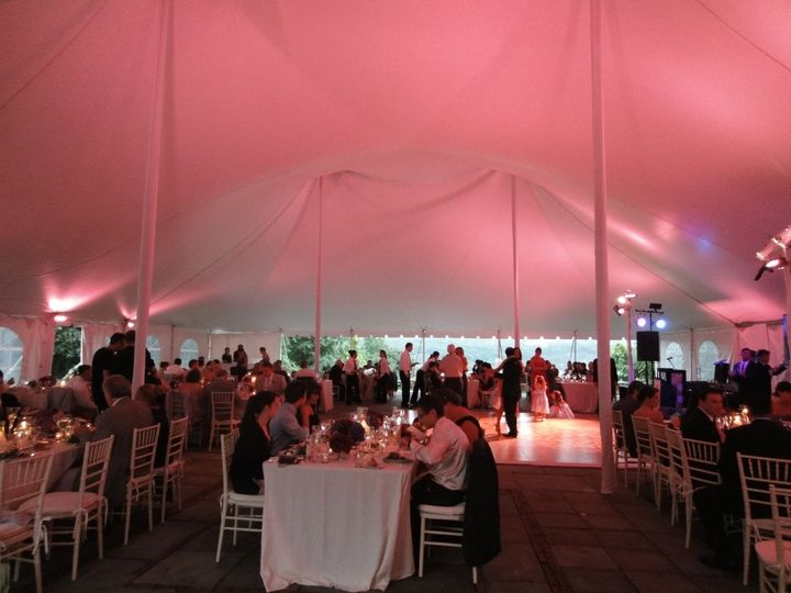Tmx 1390318229563 Pink Tent Top And Table Wakefield, Rhode Island wedding eventproduction